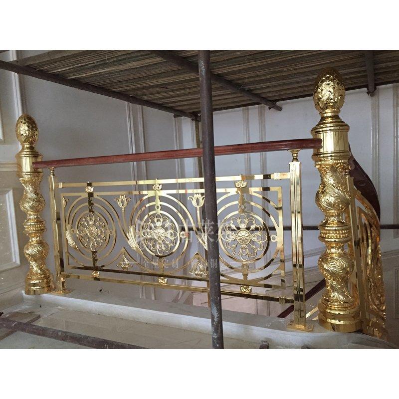 西安案例,旋转铜楼梯