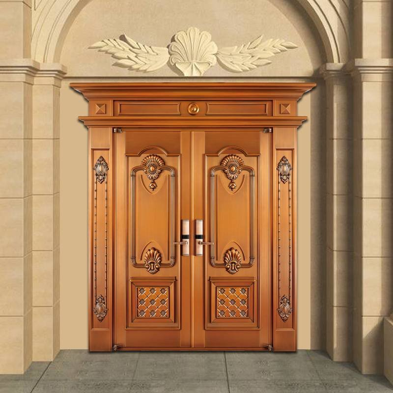 别墅铜门、佛山铜门厂家,GLS-TM-1025