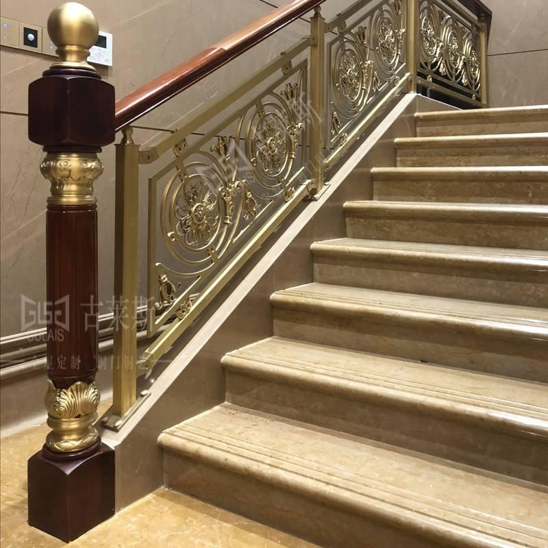 佛山市南国桃园铜艺楼梯扶手