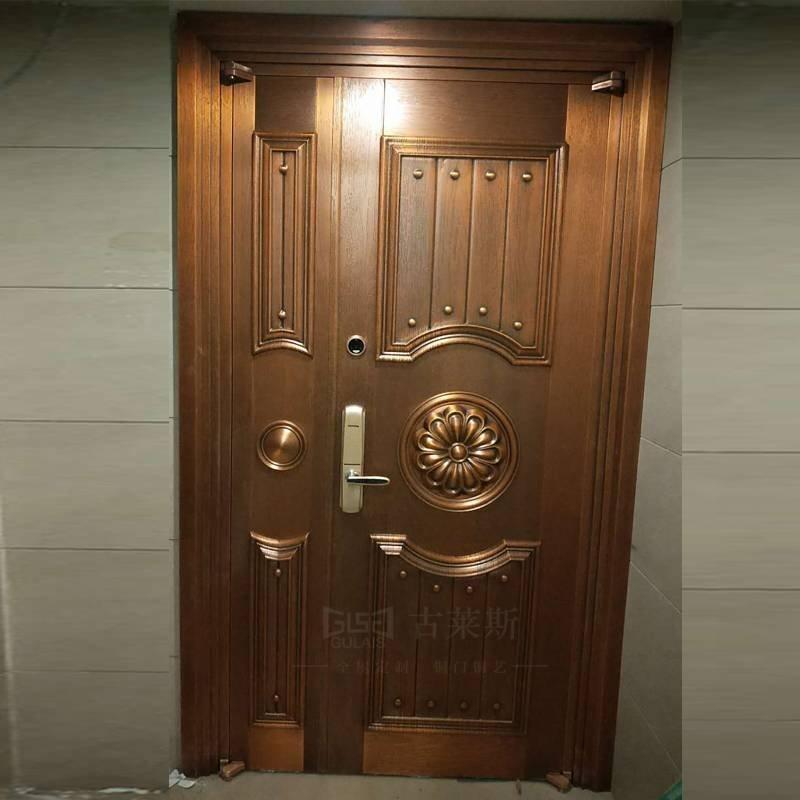 案例-欧式铜门GLS-TM-1017