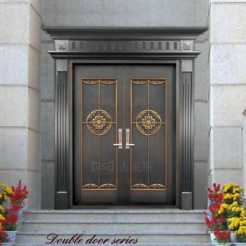 简中式入户铜门GLS-TM-1009