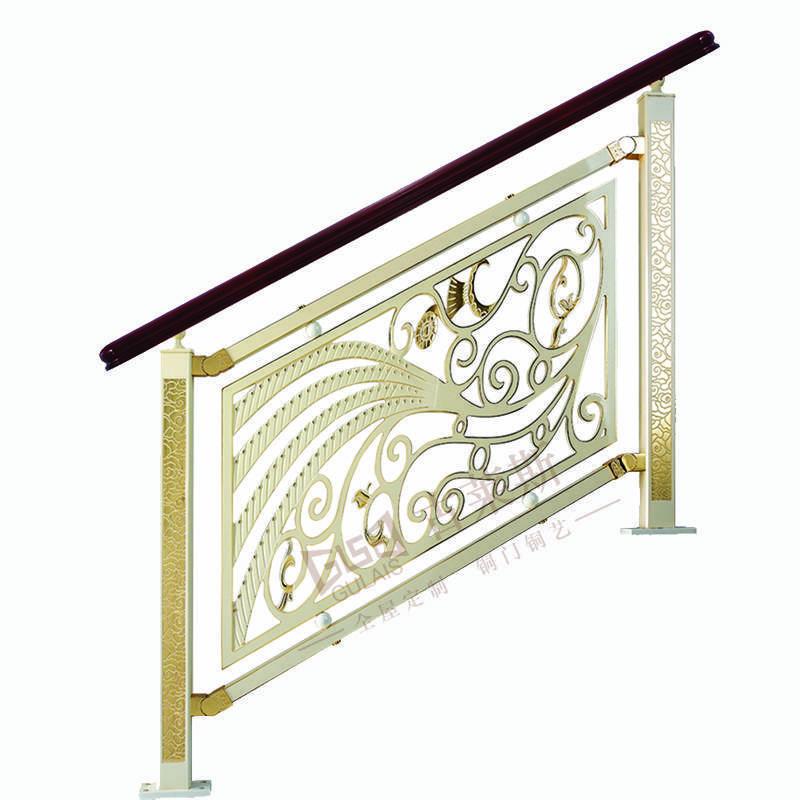 凤凰展翅 铜楼梯扶手GLS-HL-L1017