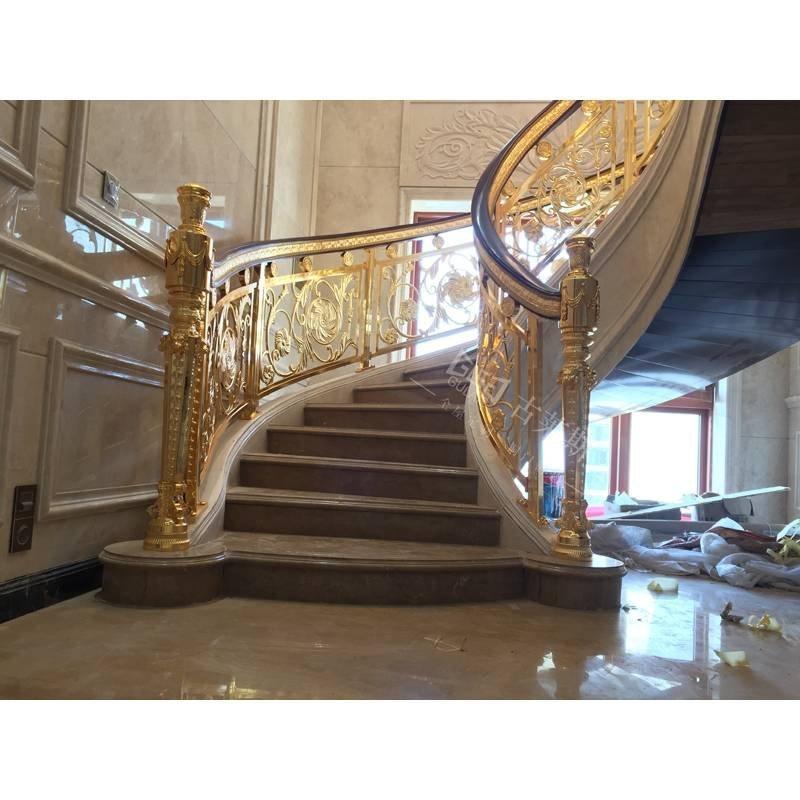 铜艺楼梯、【1】海南海口案例分享