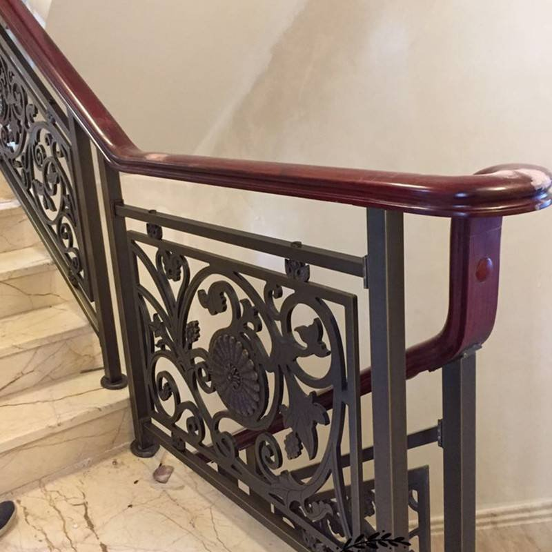 工程铜楼梯扶手
