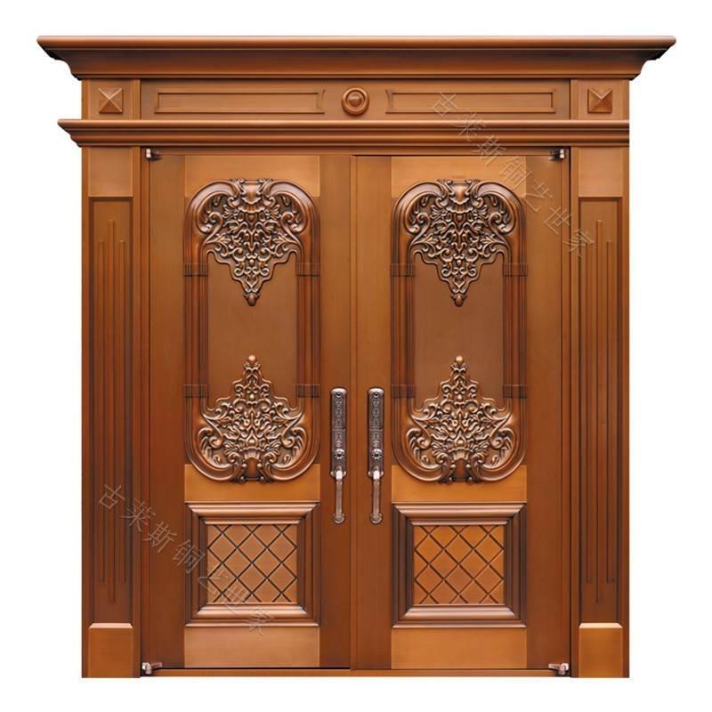 欧式大门铜门、入户铜门、双开铜门、子母铜门GLS-TM-1018