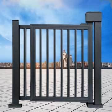 小区栅栏小门