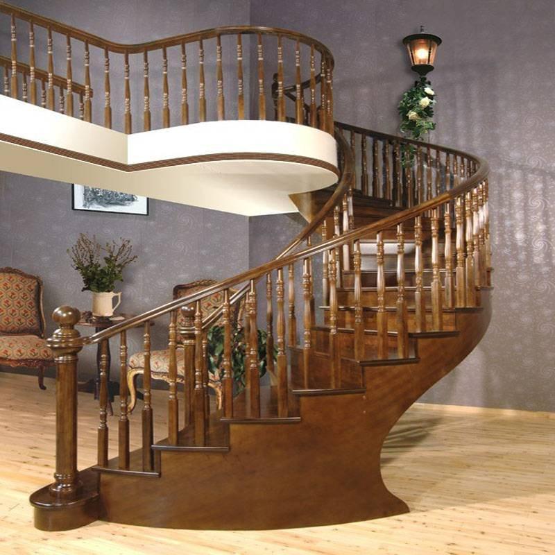 巴塞罗那 整木楼梯扶手