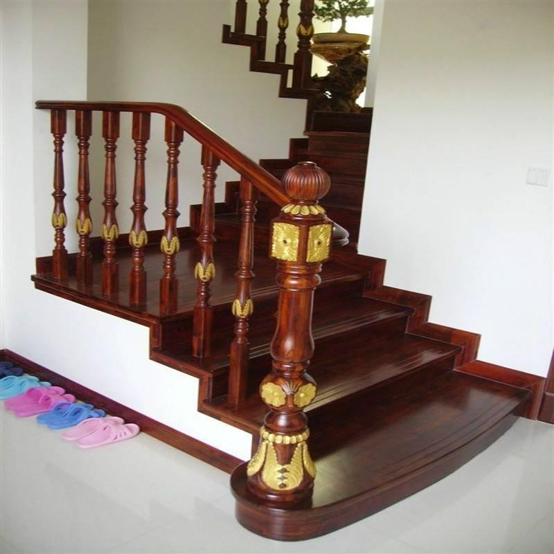 高端大气GLS-568豪华精品实木楼梯