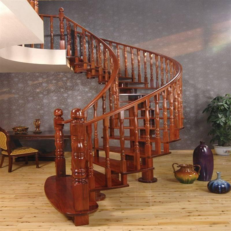 典雅优美GLS-538优势实木楼梯扶手