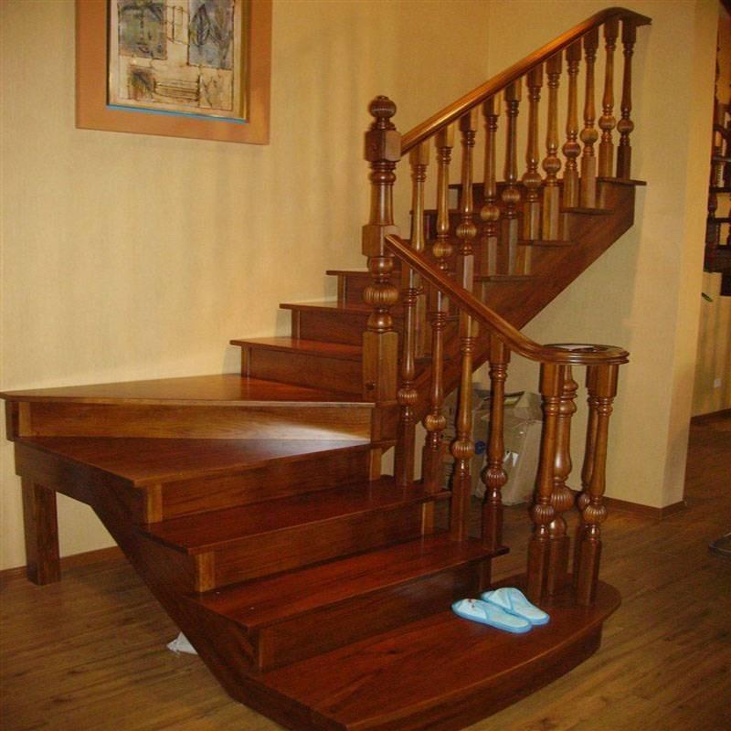 富丽堂皇GLS-156豪华欧式木楼梯